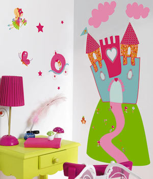 Ideas para decorar habitaciones infantiles for Sticker habitacion infantil